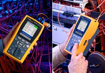 certificação de redes com FLUKE DTX 1800
